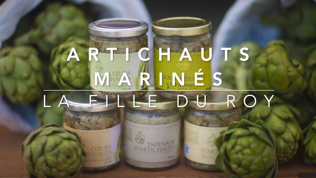 Cuisiner l'artichaut: mariné