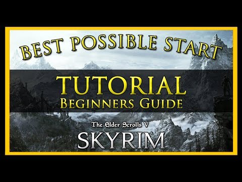 Beginners Tutorial Guide To SKYRIM Special Edition (BEST START, LEVELING, WEAPONS & MORE)