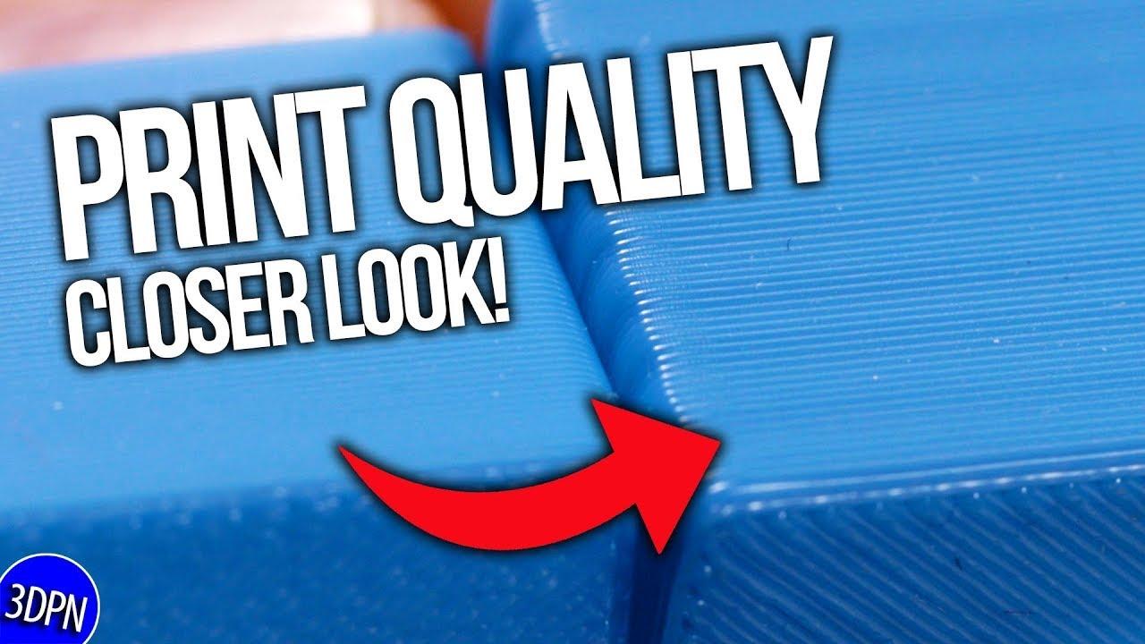 Closer Look at Print Quality // Daedalus Follow Up