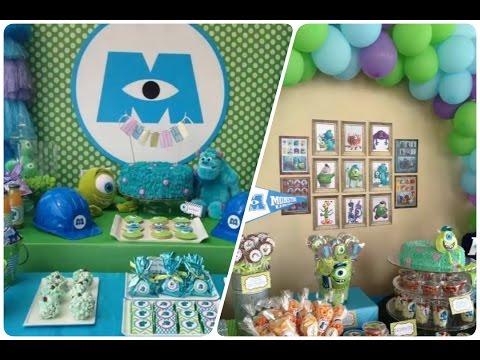 Fiesta Infantil de Monster Inc. tipos de decoracion