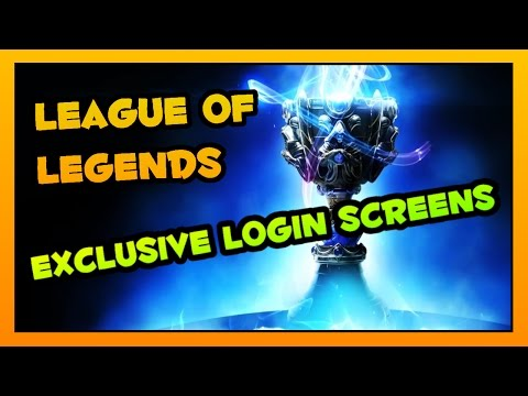 LoL - All The Exclusive Login Screen Animations