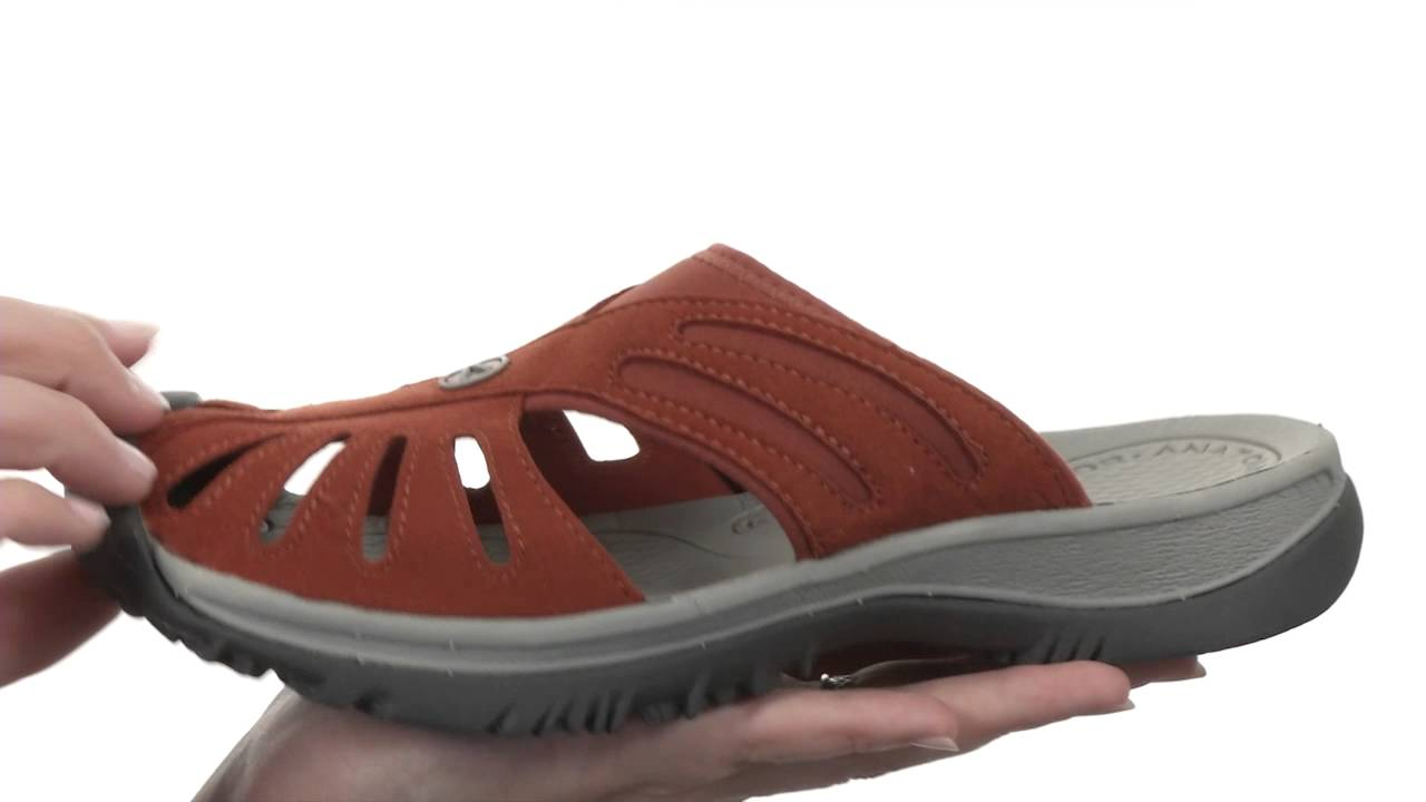 eceff1f15ccb Keen Rose Slide SKU  8264736 - YouTube