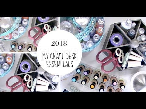 my-craft-desk-essentials-2018