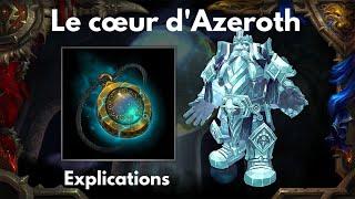 le collier legendaire le coeur dazeroth battle for azeroth