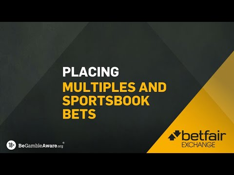 HOW TO USE BETFAIR | HOW TO PLACE MULTIPLE BETS