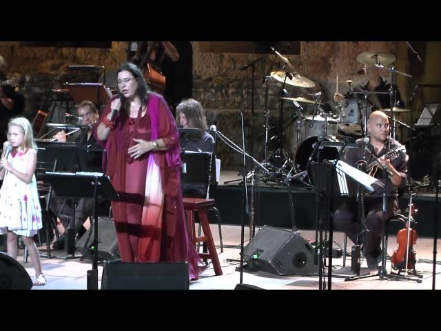 Maria Farantouri - Bella Ciao - Athens 17-9-2013 ( Odeon of Herodes Atticus )