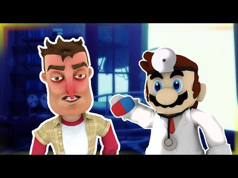 THE PLAYER GO TO THE DOCTOR   Hello Neighbor Short Film