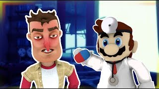 THE PLAYER GO TO THE DOCTOR | Hello Neighbor Short Film
