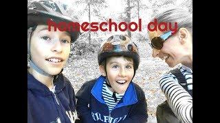 Day In The Life Of Homeschool    Homeschool Routine SAHM