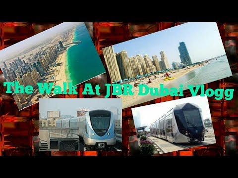 The Walk at JBR Dubai  Vlogg Pt I