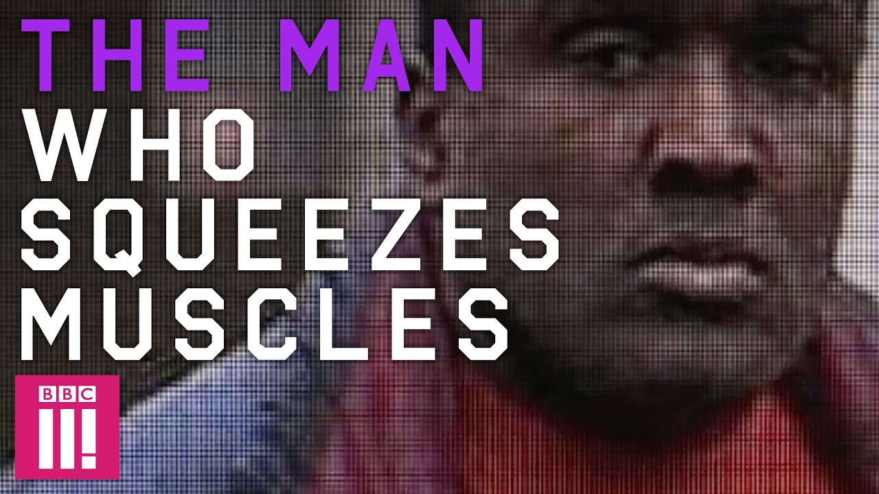 Image result for The man who squeezes muscles