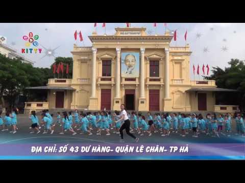 """AEROBIC 2016 """"CHÀO MỪNG NGÀY NHÀ GIÁO VIỆT NAM 2016"""" - TRƯỜNG MẦM NON KITTY HẢI PHÒNG"""