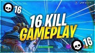 FORTNITE TOP 1 SOLO 16 KILLS!!
