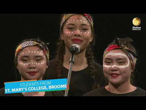 Students from St. Mary's College, Broome | Plenary 5 | ACYF 2019