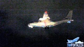 [SBFZ/ FOR] Aproximação Final RWY13 Air Tech/ CASA CN-235 N5025 Prescott Support Company 19/02/2015