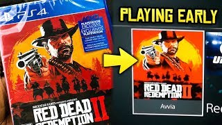 Red Dead Redemption 2 - Getting the Game EARLY! New Leaks & Info We DIDN