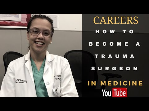 How to Become a Trauma/Critical Care Surgeon!