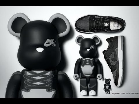 3286dcb2a9a9 Incoming MEDICOM TOY x Nike SB Celebrate 15 Years of Play - YouTube