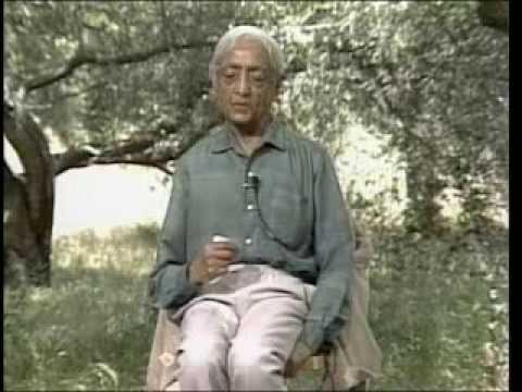 J. Krishnamurti - Beyond Myth & Tradition 3 - Freedom and authority