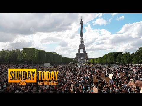 Protests For George Floyd Spread Around The World | Sunday TODAY