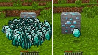 GİZLİ BİLİNMEYEN 1.000.000 ELMAS VEREN KAZMA! - Minecraft