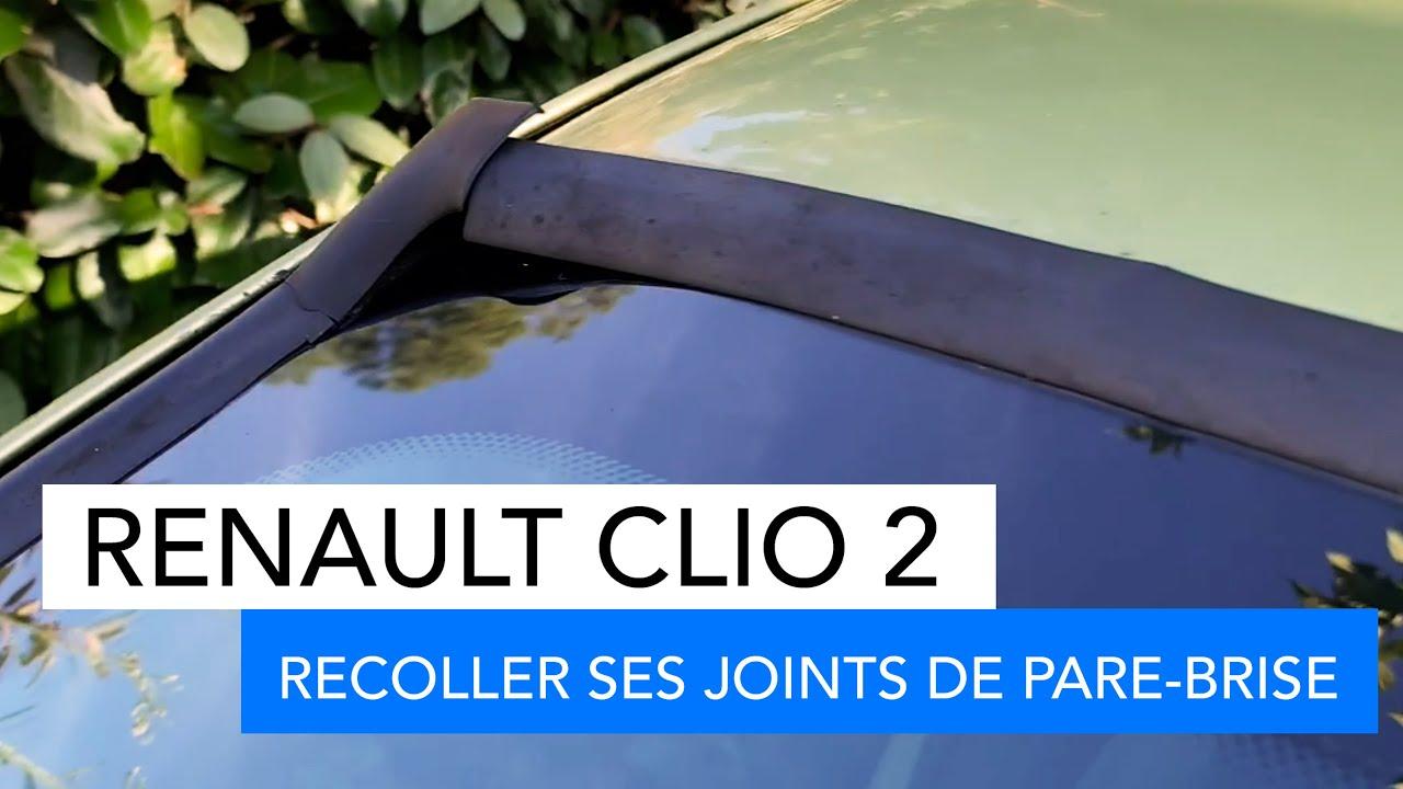 Renault Clio 2 Comment Recoller Ses Joints De Pare Brise Abimés