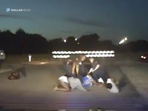 Dash cam video shows DeSoto police using force on a family