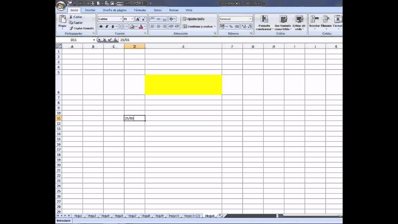 Cómo Modificar Celdas Con Excel