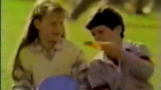 Vintage 80's Fruit Roll Ups Commercial After School