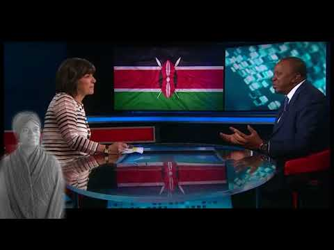 President of Kenya says Gay rights 'of no importance' here - Reporter checks him Video