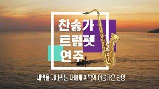 찬송가 트럼펫 연주(새벽을 기다리는 자에게 회복의 아름다운 찬양)
