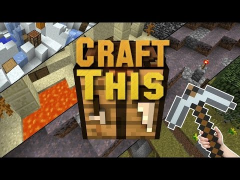 Minecraft - CRAFT THIS! #4 (CRAFTING CHALLENGE) with The Pack