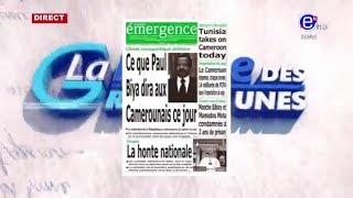 LA REVUE DES GRANDES UNES DU MARDI 10 SEPTEMBRE 019 EQUINOXE TV