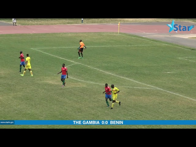 The Gambia VS Benin | AFCON Qualifiers