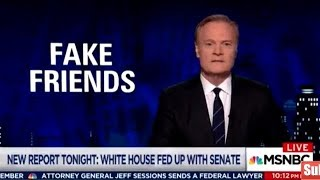 McCain Destroys Trump & Bannon - Lawrence O'Donnell Oct 16, 2017