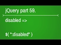jquery forms disabled selector - part 59
