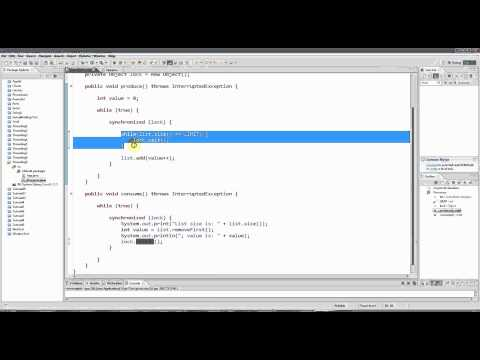 Advanced Java: Multi-threading Part 9 - A Worked Example