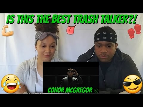 Is This The Best Trash Talker? Conor McGregor! Reaction Video