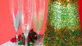 DIY- Copas de Champagne Decoradas