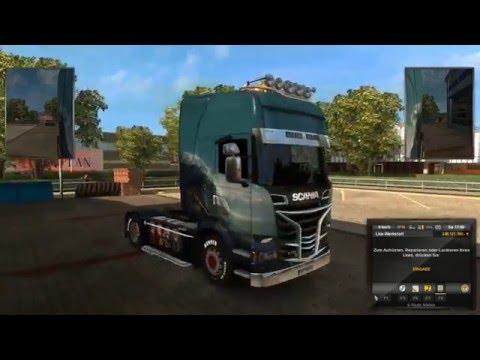 Euro Truck Simulator 2 Mod 4000 Ps Motor von Steam workshop