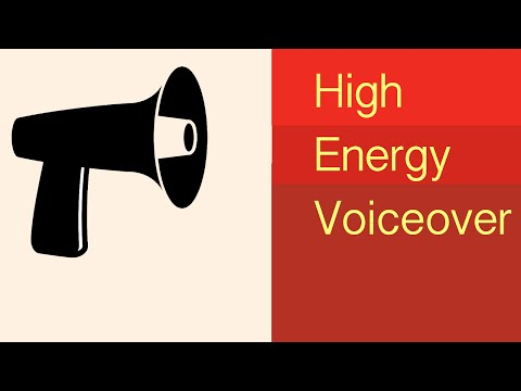 Hard Sell Voice-over that's High Energy from Ray Norman