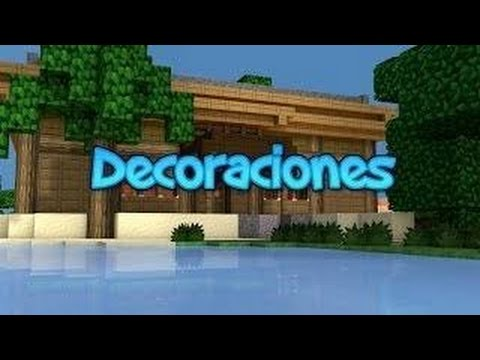 Top de las mejores decoraciones para minecraft pe for Decoraciones d casa