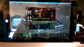 Fallout 1 on $75 Winbook TW802 tablet