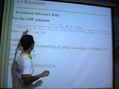Inference in First order logic: Resolution
