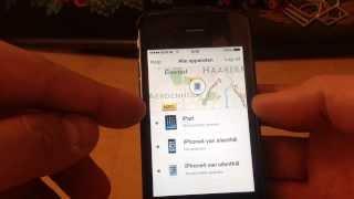Vind mijn iPhone. Zoek Iphone Find my iPhone handleiding screenshot 5