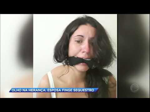 Mulher finge sequestro para conseguir dinheiro de herança