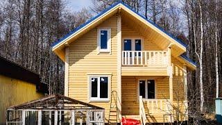 видео Проекты домов из бруса 6х7