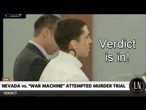 War Machine Trial Verdict 03/20/17
