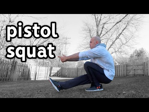 Master the Slowly Move The Pistol Squat