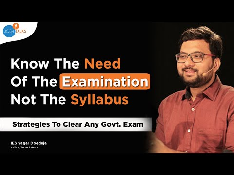 these-tips-will-make-you-crack-any-competitive-exam-|-ies-sagar-dodeja-|-civil-beings-|-josh-talks